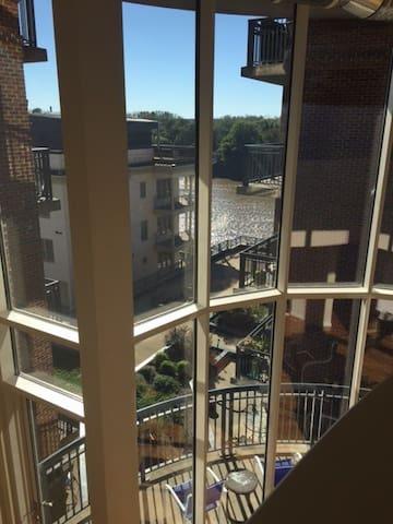 ModernLuxury 2 Story Loft w Floor2Ceiling Windows - Richmond