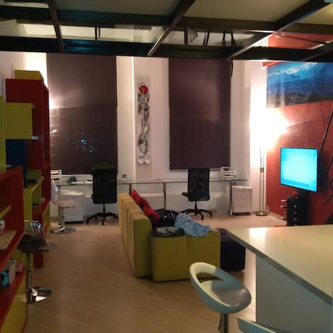 Loft Torino moderno San Salvario piano terra! - Torino - Loft