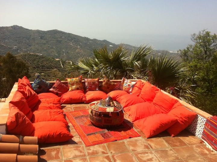 Beautiful villa with seaviews
