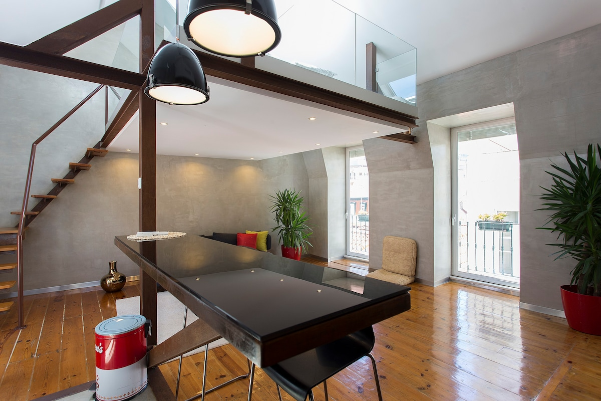 Enchanting, Contemporary Central Lisbon Loft - Flats for Rent in ...