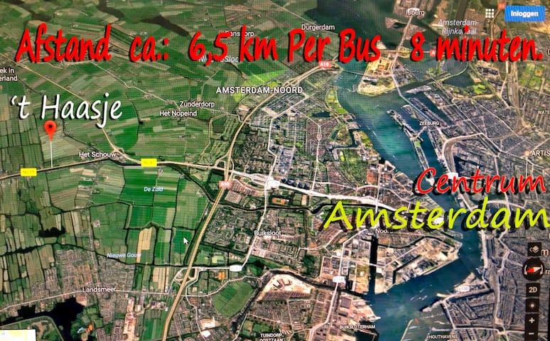Watergang (omgeving Amsterdam-Noord)