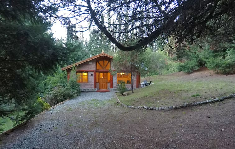 Casa del Bosque en El Bolson, Patagonia!