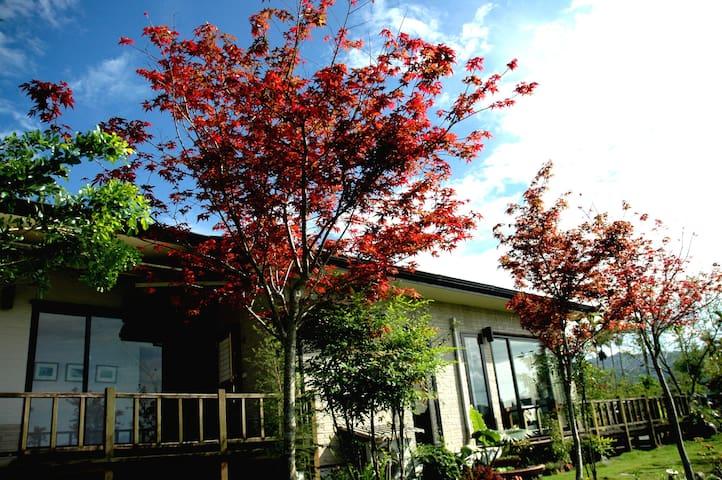 靜廬 (日式雙床,歐式景觀花園,客房超大玻璃景觀窗) - Ruisui Township - Villa