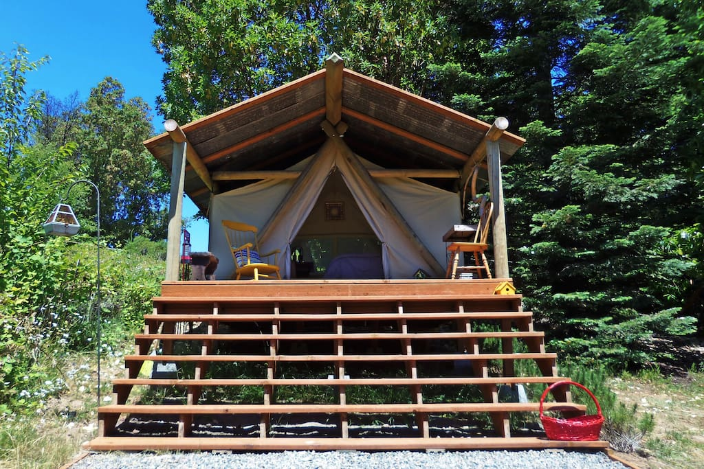 welcome to your glamping home!