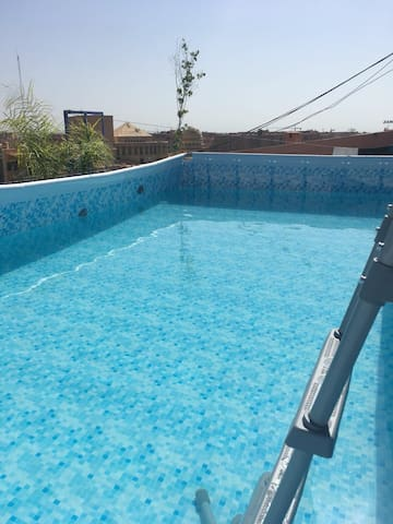 ⭐Curry Gueliz Centre-Ville, Piscine, Privacy