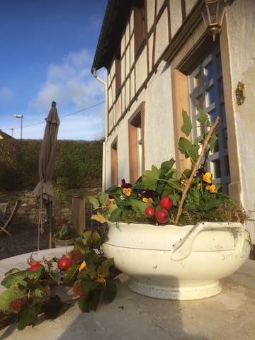 Wohnen mit historischem Charme - Abentheuer - Lägenhet