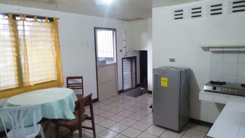 Spacious ground floor apartment near downtown (A5) - Dumaguete - 公寓