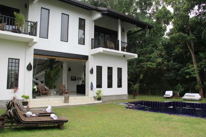 YUMMY GREEN HEAVEN  IN SRILANKA  (MADAMPE HOUSE)