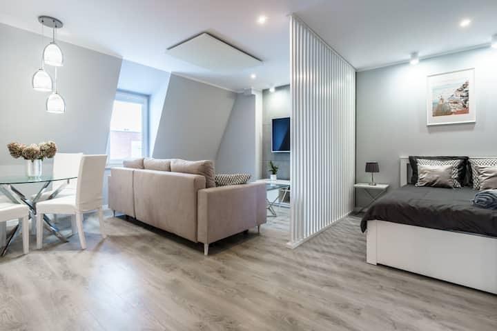 Nowoczesny apartament Gliwice -200 metrów od rynku