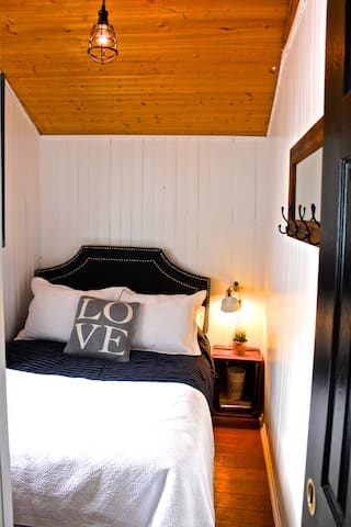 Double Bed w/ Tallboy Dresser