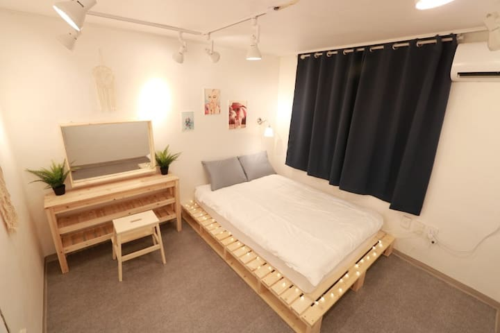 7★OZhouse★3min from hongdae station#private room