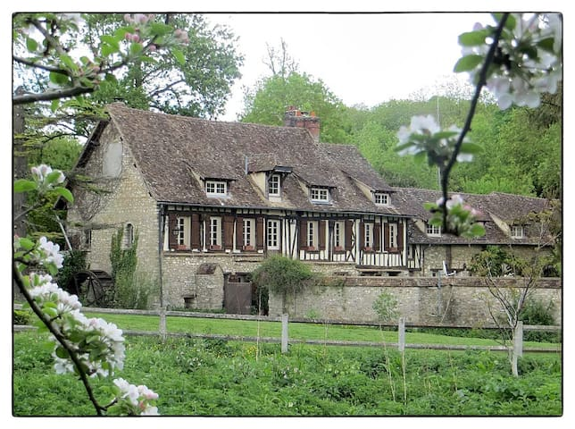Romantic 16th century watermill and grounds.