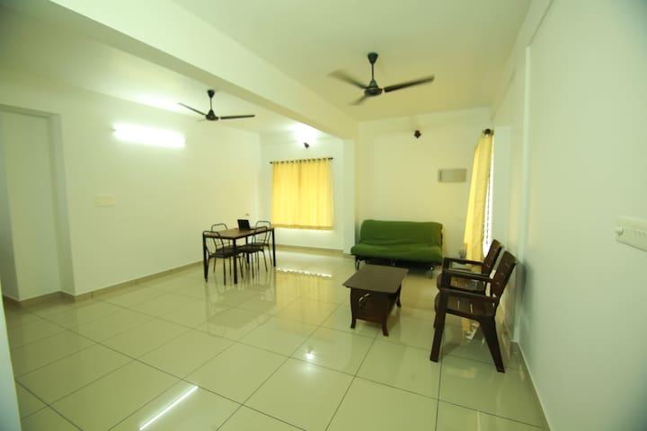 """ GANGA ""  2BHK, 2nd floor Apartment"