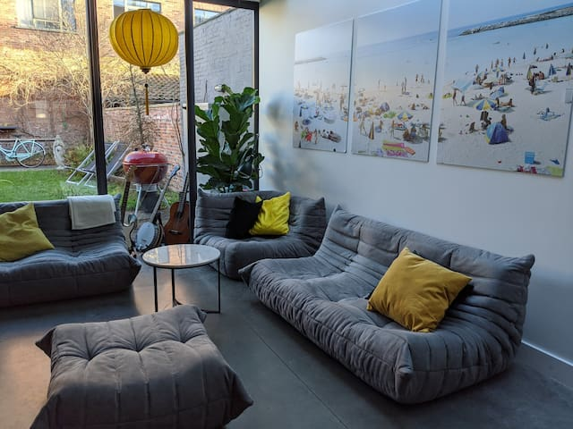 cosy and comfy townhouse in the city centre