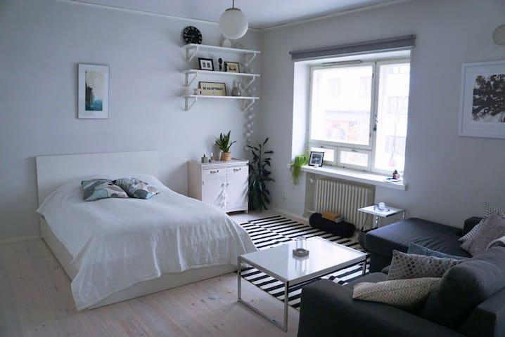 Beautiful studio apartment in Kallio