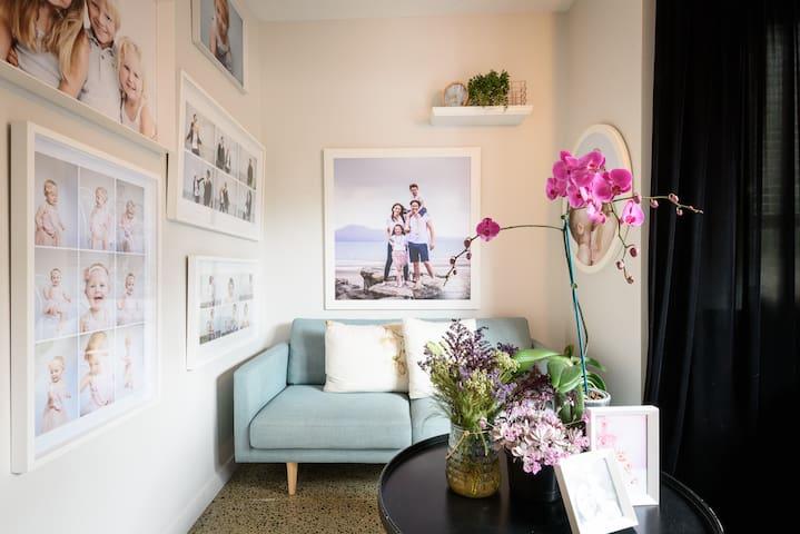 Artist Photographers Home Studio