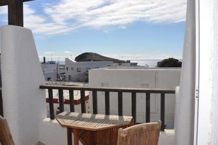 Cabo de Gata.La Isleta.Terrace with Sea views. - La Isleta