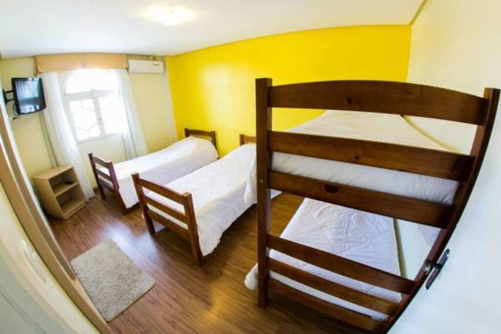 4 camas solteiro
