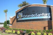 We are 35 miles from Orlando Sanford Airport