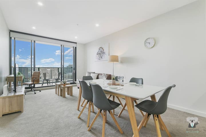 KOZYGURU | Parramatta CBD | Luxury 2 Bed APT + Free Parking | NPA011