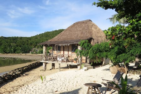 A Spacious Family Private Cottage by the Beach!! - Busuanga