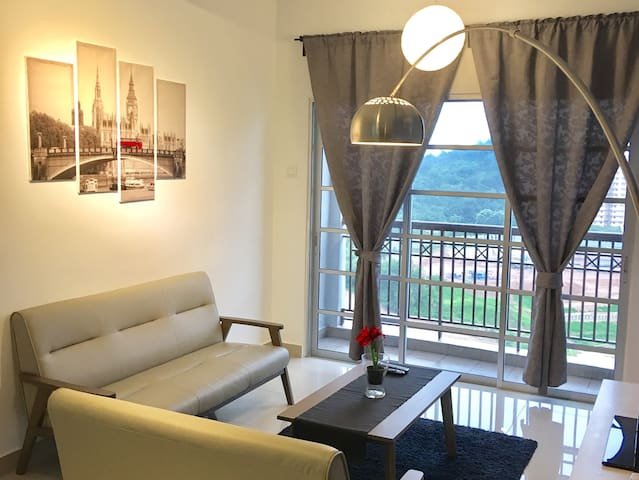 3 Bedroom Private Apartment | Near ERL-KL-KLIA - Putrajaya - Lägenhet