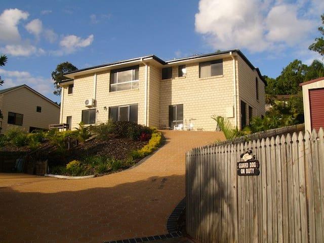 Half way between Brisbane and the Gold Coast