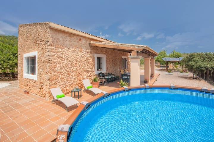 SON MATET - House for 6 people in Santa Eugenia.