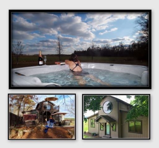 *Disconnect,Unplug & Watch Sunset fromYour HotTub!