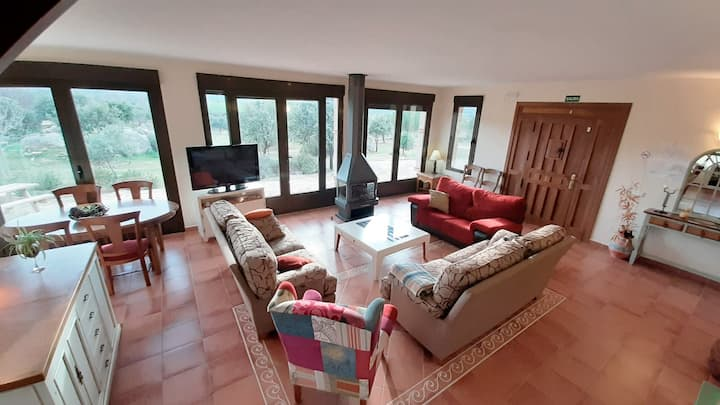 Country House in the Mountain, near to Toledo