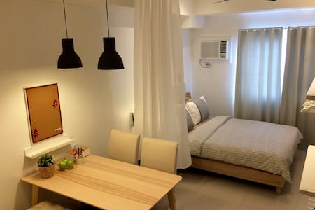 Homely Scandinavian Studio Unit in Ortigas Center - Manila