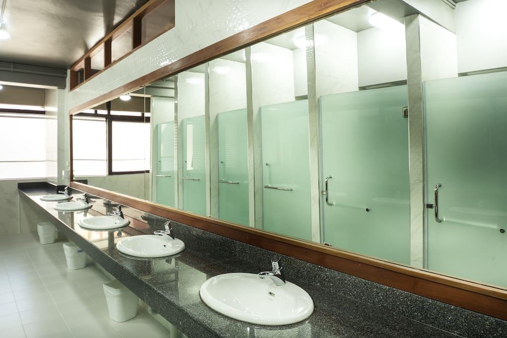 Female Shared Bathroom