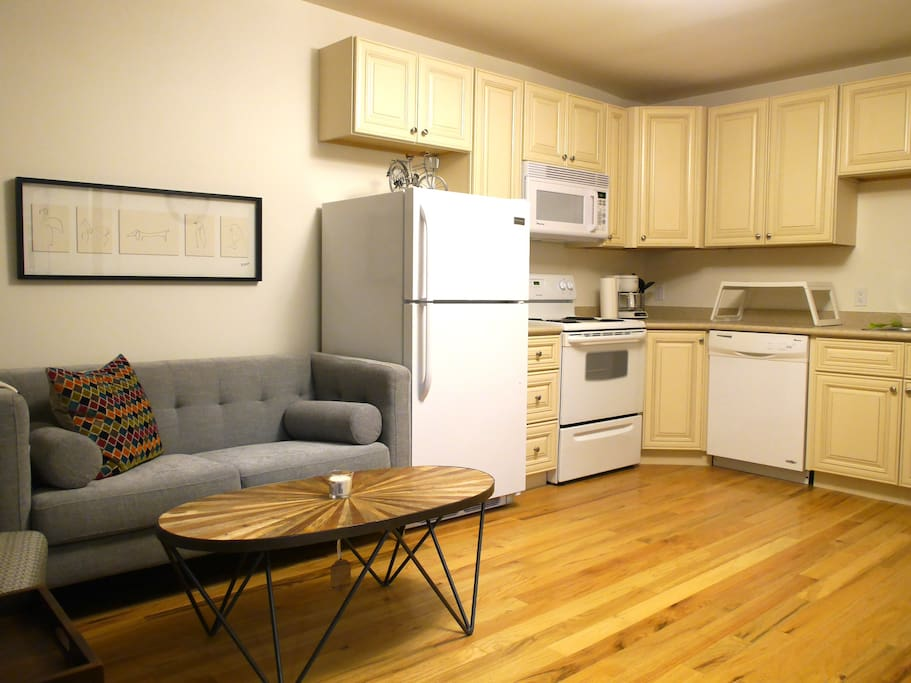 A newly renovated apartment for your stay