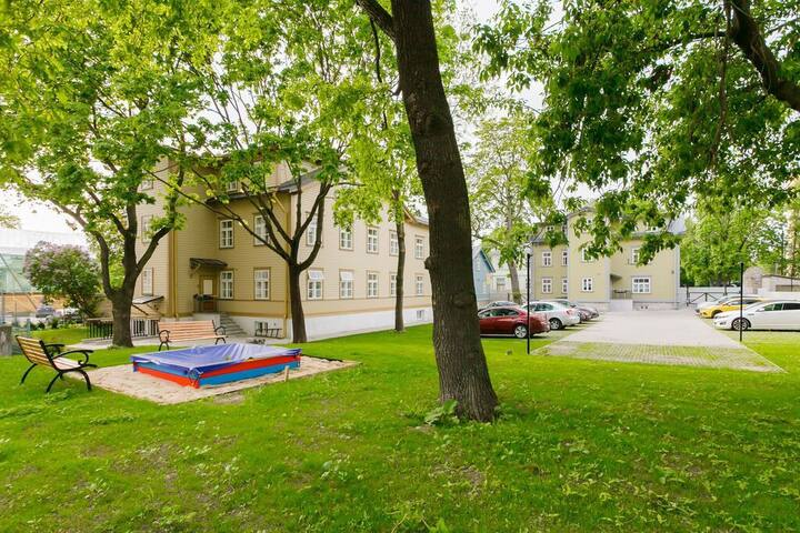 Double room near to Old Town of Tallinn