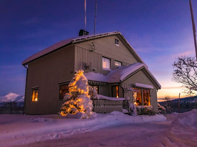 Koselig hus i landlige og naturskjønne omgivelser