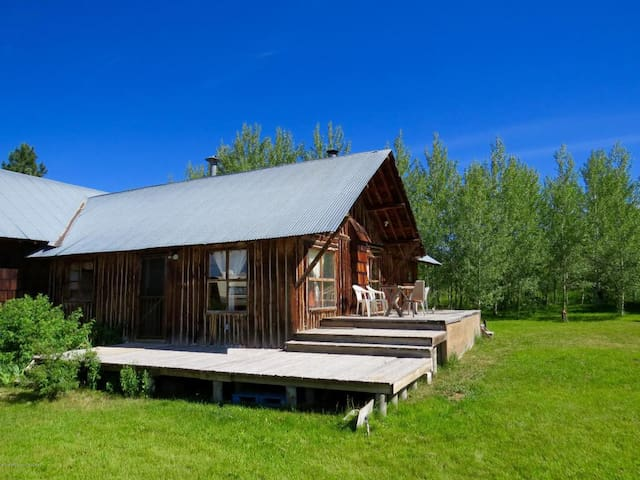 Rustic Cabin for Solar Eclipse - Tetonia