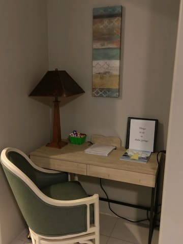 Writing Desk with wi-fi