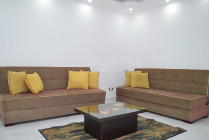 Luxury Garden Apartment in Maamoura Beach