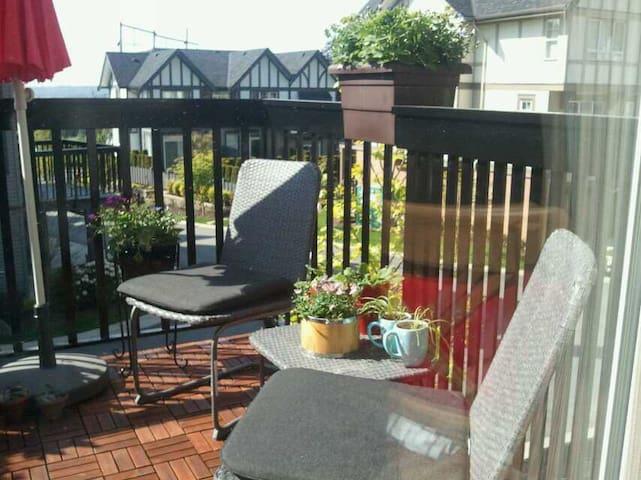 安家陪读,休闲度假,有我陪伴2017年自住了不能预定了 - Coquitlam - Apartament