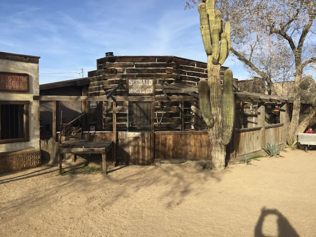 Mane st Mining co - Pioneertown