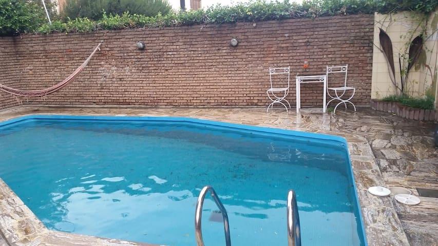 Habitación doble con  piscina
