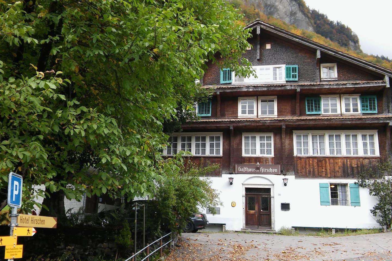 Selbstkocherhaus wird ab Dez.017 für airbnb, Familien u. Kleingruppen bis ca. 20 Personen vermietet.