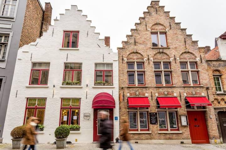 Privé boetiek hotel centrum Brugge, 31 pers max.