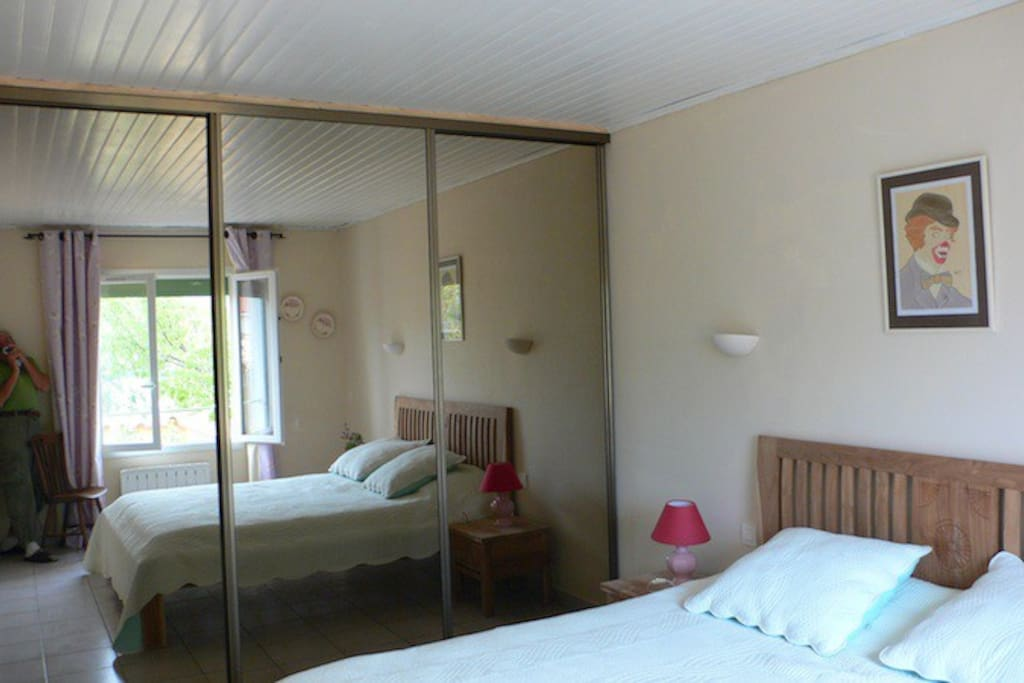chambre au SUD Lit double 160 X 200