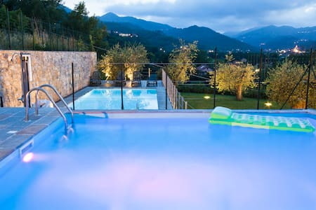 Ormeasco: La Ramera Agriturismo con 3 Piscine/SPA - Garlenda - Appartement