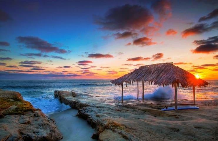 Famous WindanSea Beach only Steps away