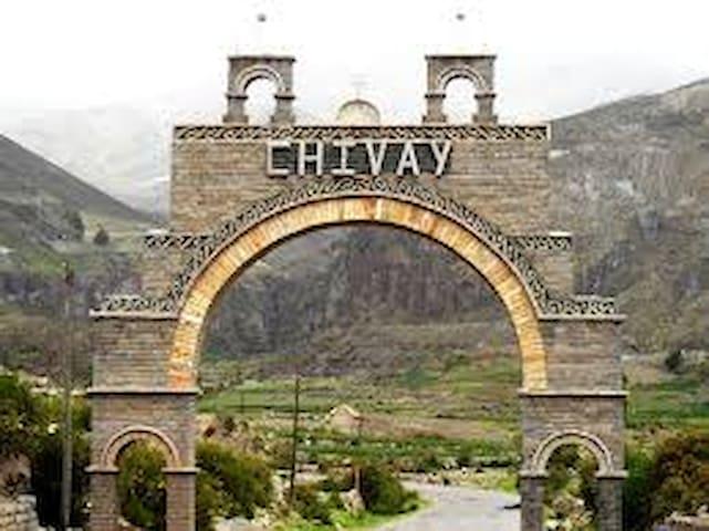 Habitacion matrimonial en Chivay - Colca.