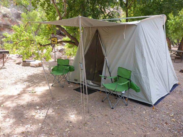 Zion Camping Rental -Tent camping equipment rental