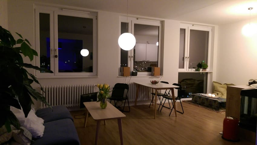 Light, newly refurbished, studio apt. by Rathaus - Hambourg - Appartement