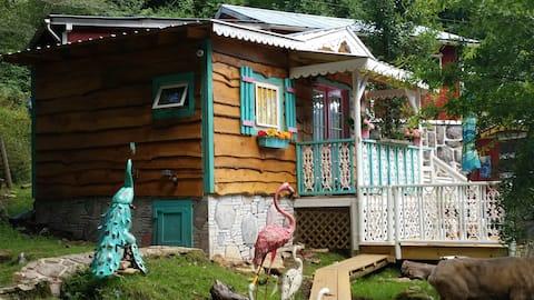 Gingerbread Farmyard Zoo Tiny Home